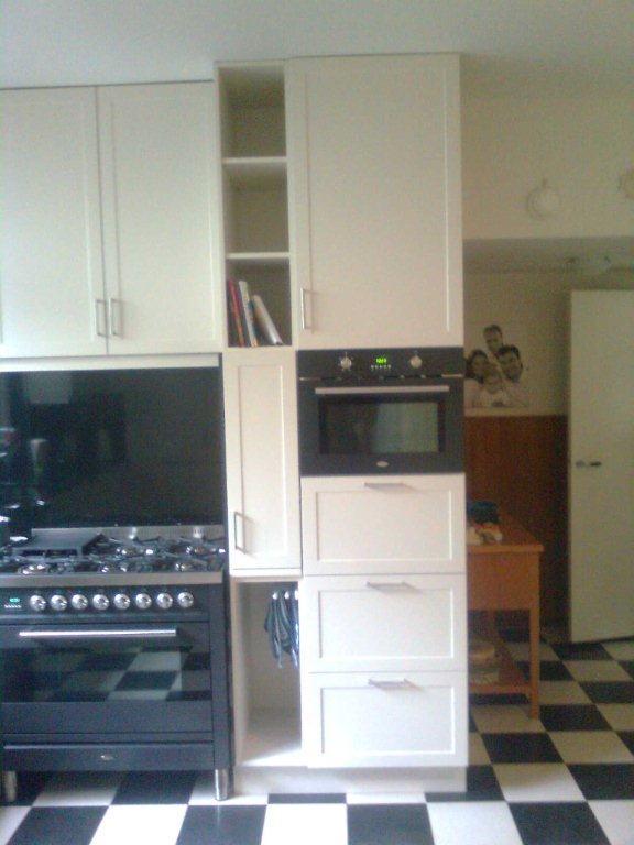 Keuken keller keukens apothekerskast inspirerende foto for Interieur ideeen keuken